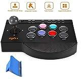 ZIHENGUO Arcade Joystick Game Controller Wired Gamepad para PC / PS3 / PS4 / Xbox One/Switch, con función Turbo y Macro (sin convertidor OTG)