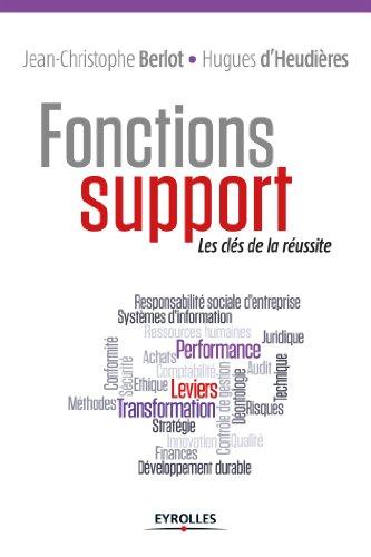 Fonctions support (Gestion de projets) par Jean-Christophe Berlot