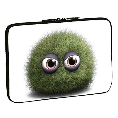 PEDEA Design Schutzhülle Notebook Tasche bis 13,3 Zoll (33,7cm), Green Dust