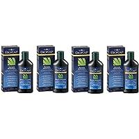 Biosline – BIOKAP Champú Anticaída rinforzante Tricofoltil 4 paquetes de 200 ml, antisalpicaduras, rinforzante... de Bios Line