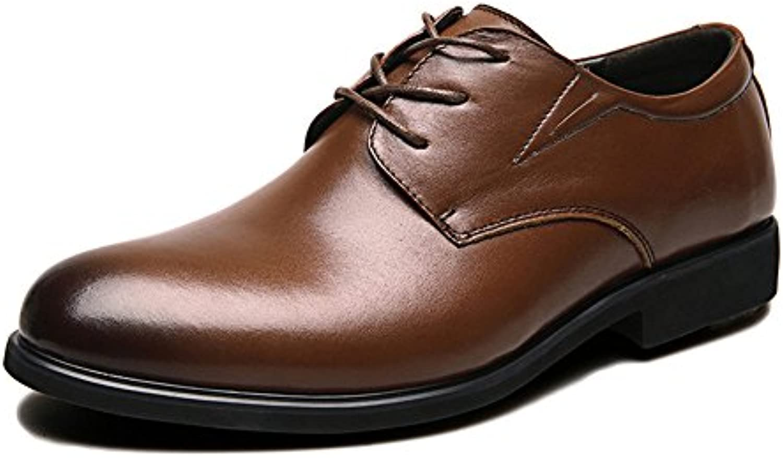 Brown Leder Schuhe Mann Brogue Hochzeit Lace up Business Schuhe Kleid Herrenschuhe Aus Echtem Leder Atmungsaktiv