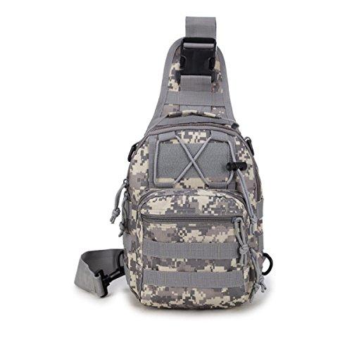 BULAGE Pack Brusttasche Farbe Persönlichkeit Mode Tragbar Tarnung Schulter- Messenger Outdoor Freizeit Sport Radfahren Backpacking E