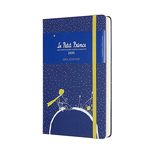 Moleskine Agenda journalier Petit Prince 2020 12 mois Grand format