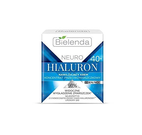 Biel Enda neuropsiquiátricas ácido hialurónico Antiarrugas Día & Noche Color Crema con 2x Ácido Hialurónico 40+ 50ml