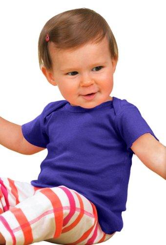 Jesus Halbton auf American Apparel Fine Jersey Shirt Violett