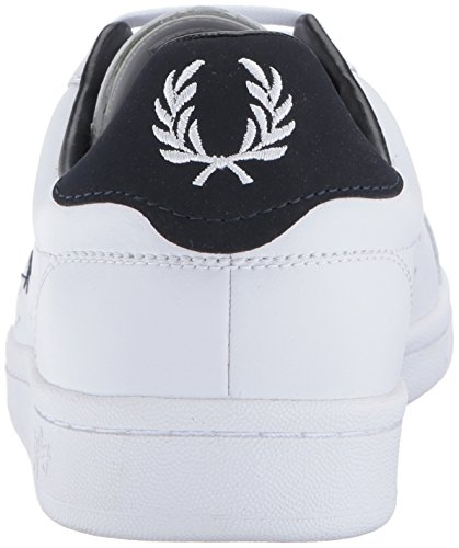 Fred Perry Herren B7211 Leather Oxfords White