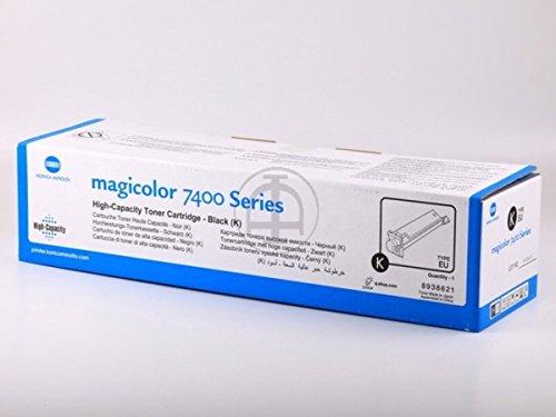 Magicolor 7450 Schwarz Toner (Konica Minolta original - Konica Minolta Magicolor 7450 Series (8938-621) - Toner schwarz - 15.000 Seiten)