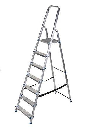 Unterschiedlich Alu Leiter 3 bis 8 Stufen Haushaltsleiter Malerleiter Mehrzweck  MD72