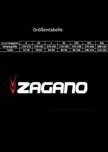 Zagano Herren Badehose 2305 Schwarz