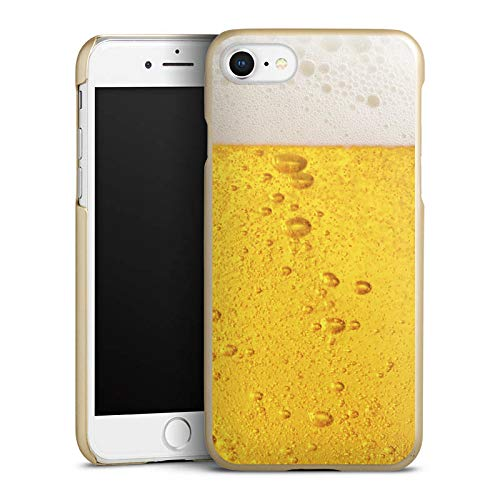 Hülle kompatibel mit Apple iPhone 8 Handyhülle Case Bier Beer Design