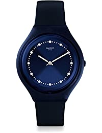 Swatch Unisex-Uhr Digital Quarz mit Silikonarmband – SVUN100