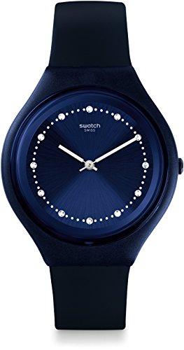 Swatch Orologio Unisex Digitale al Quarzo con Cinturino in Silicone - SVUN100