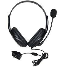 Estéreo De Auriculares Auriculares De Color Negro Con Micrófono Para Xbox 360 Microsoft 2.5mm Gboxhs02
