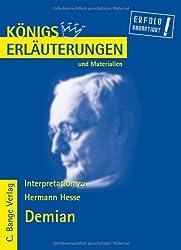 Königs Erläuterungen und Materialien, Bd.464, Demian