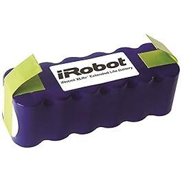 iRobot 4419696 – Batteria Lunga Durata Xlife, Parti Originali, Compatibile con Roomba Serie 500/600/700 /800 + Scooba…