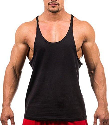 LemonGirl Mens Tank Tops Sleeveless Gym Shirts
