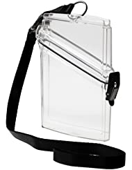 Witz See It Safe Clear Water Resistant Passport Case for Scuba Divers (japan import)