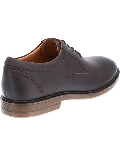 Sebago Men's Men's Leather Waxed Shoes In Brown Color brown