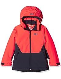 Helly Hansen Jr Stella Jacket Abrigo, Niños, Naranja (Coral), años (Tamaño del Fabricante:10)