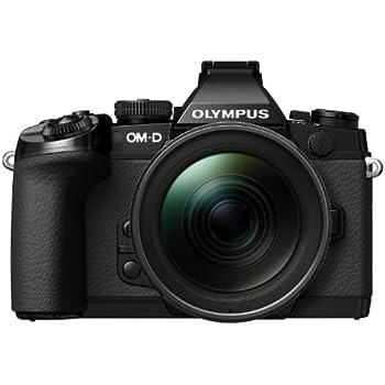 Olympus OM-D E-M1 Kit Appareil photo hybride 16,3 Mpix + Objectif M.Zuiko Digital ED 12-40 mm 1:2.8 Noir