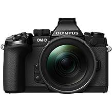 "Olympus OM-D E-M1 - Cámara EVIL de 16.3 Mp (pantalla 3"", estabilizador, vídeo Full HD), color negro - Kit cuerpo cámara con objetivo 12-40 mm f/2.8"