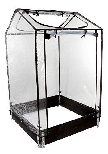 Mini-Serre Tom Nursy pour Potager Modulo Garden - 100 x 100 x H160 cm