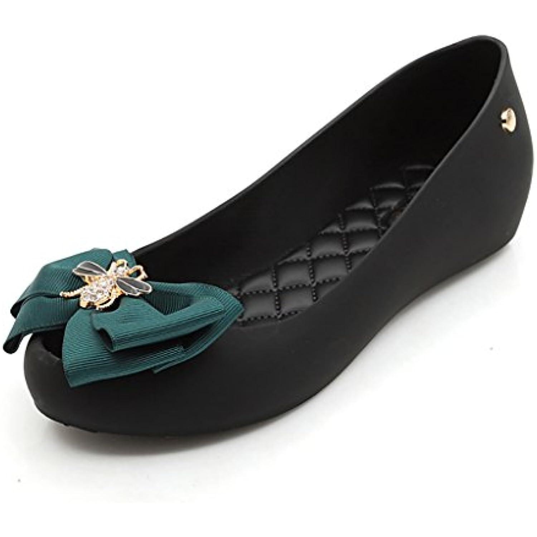 Chaussures de Plage d'arc de Femmes, imperméable à l'eau l'eau l'eau Anti-dérapant Bouche Peu Profonde Chaussures Plates - B07DGRKM8S - 2606fb