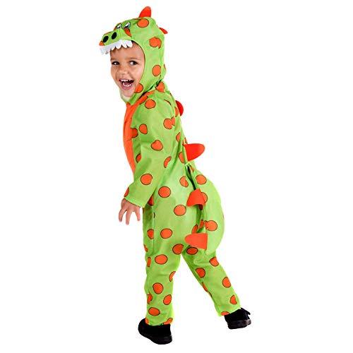 Kostüm Kid Raptor - Fun Shack FNK4477-102 Kostüm, Unisex Children, Dinosaurier, Größe S