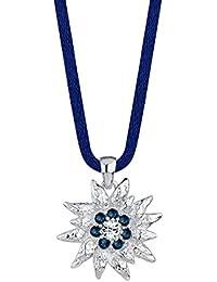 Elli Damen Halskette mit Anhänger 925 Sterling Silber Swarovski Kristall