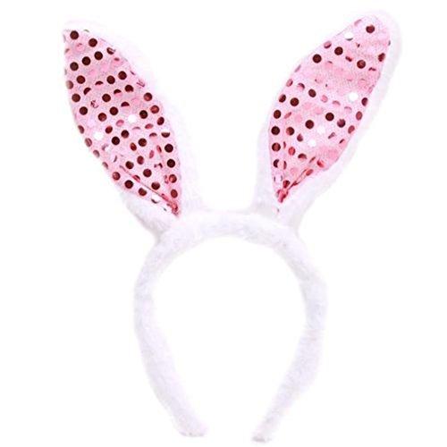 Hengsong Party Bunny Kostüm Hasenohren Haarreif Haarband für Baby Kinder (Ohren Bunny Baby)