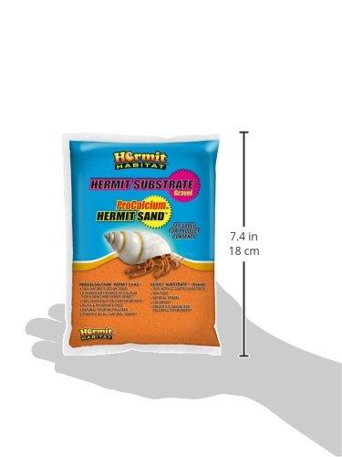 Hermit Habitat Terrarium Sand, 2-Pound, Orange 2