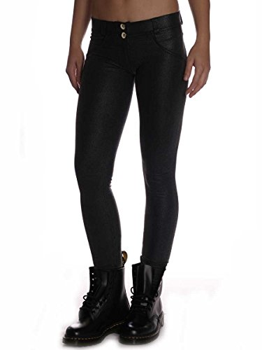 Freddy Donna Pantalone Lungo WR.UP Shaping Effect Skinny WRUP1LX3E N0 Nero Nero