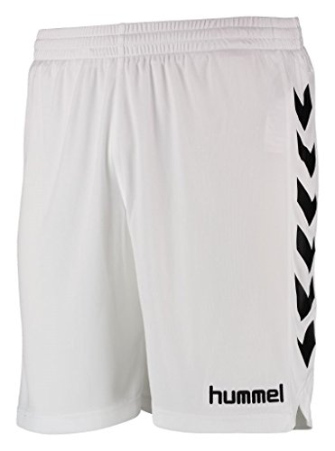 Hummel Herren Liga Shorts, White/Black, M, 13-024-9124
