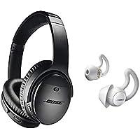 Bose QuietComfort 35 Series II nero cancellazione del rumore cuffie   Bose  Noise coprente Sleepbuds Bundle e3b757f1eea5