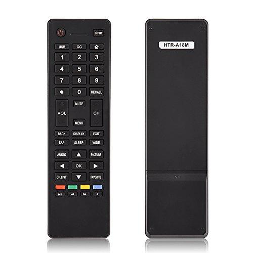 Ajuste de Control Remoto Universal para Haier HTR-A18M TV, Reemplazo de Control Remoto para Smart TV Haier HTR-A18M 55D3550 40D3500M 48D3500