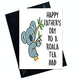 Divertida tarjeta del día del padre