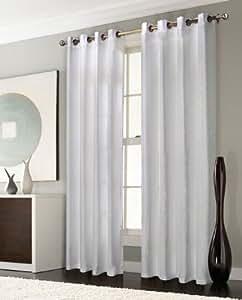 thermo gardine sen vorhang mit polar fleece r cken matt 245x140 wei. Black Bedroom Furniture Sets. Home Design Ideas