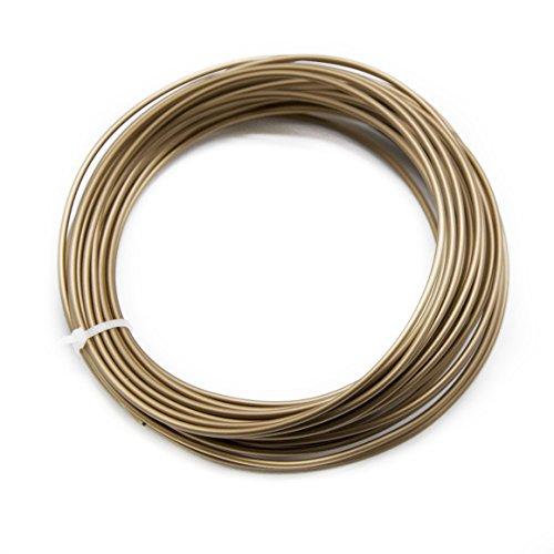 Hyy Filament pour imprimante 3d (1.75mm de diamètre, 28,3gram, 374¨ H-410¨ H) pour imprimante 3d MakerBot RepRap MakerGear Ultimaker, Red Copper, 1