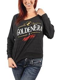 Acrylick - Golden Era Womens Raglan Sweater in Tri-Black