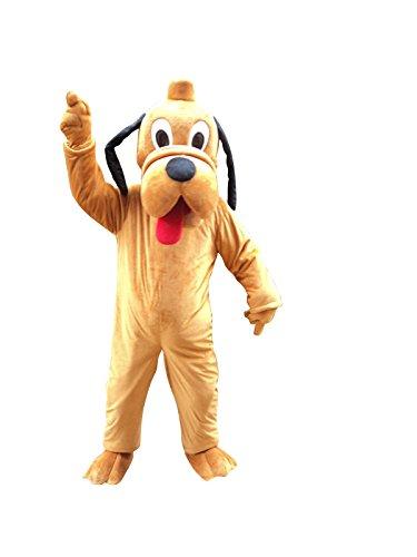 Hunde Halloween Maskottchen Kostüm für Erwachsene Fancy Dress Outfit (Happy Halloween Kostüme Haustier)