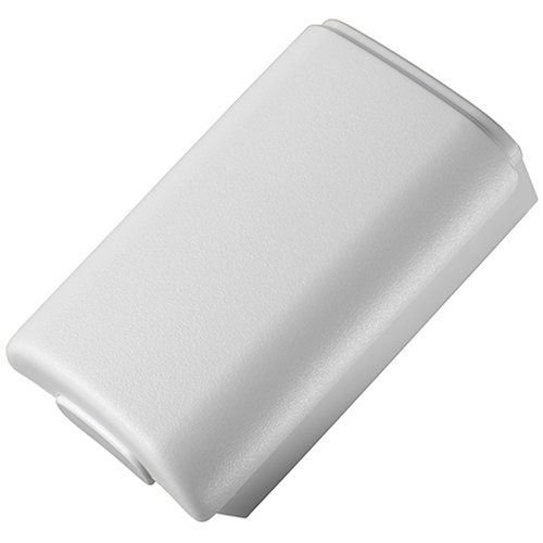 Generic Battery Shell Cover Case Compatible for Microsoft Xbox 360 Wireless Controller Color White Pack of 2 [Importación Inglesa]