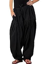 Anaro cotton patiala salwar(Pants) for women free size