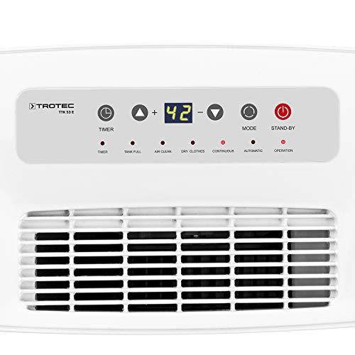 TROTEC Luftentfeuchter TTK 53 E (max. 16 l/Tag) - 4