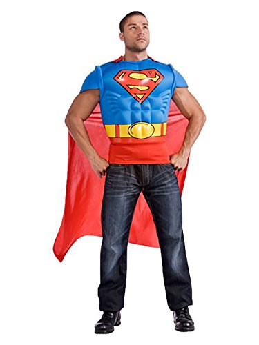 Kit muskulösen Superman-Kostüm für - Muskulösen Mann Kostüm