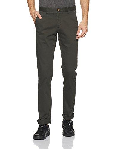 blackberrys Men's Skinny Fit Casual Trousers (EK-S-Kimono_Bournville_36W x 33L)