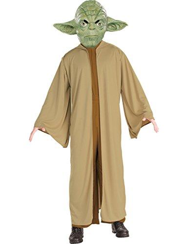 Yoda Herren Kostüm, (Kostüme Film Halloween Alien)