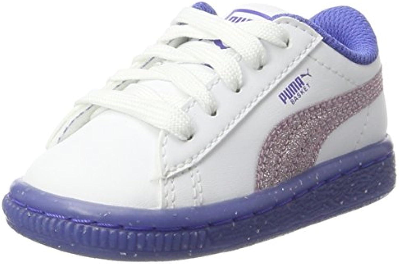 Puma Basket Iced Glitter 2 Inf, Zapatillas Unisex Niños
