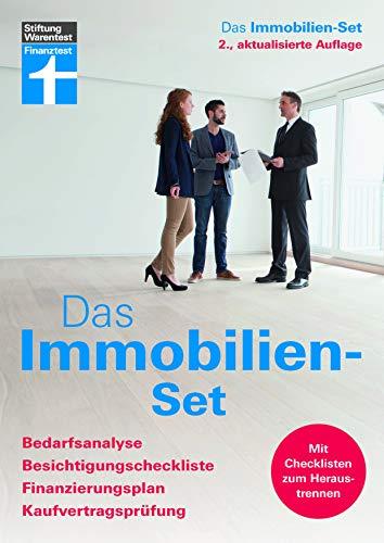 Das Immobilien-Set: Bedarfsanalyse, Besichtigungscheckliste, Finanzierungsplan, Kaufvertragsprüfung - Checklisten für den Immobilienkauf