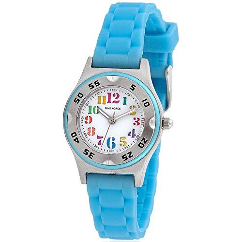 TIME FORCE TF-3359B03 Reloj Infantil para Niño/Niña, Azul