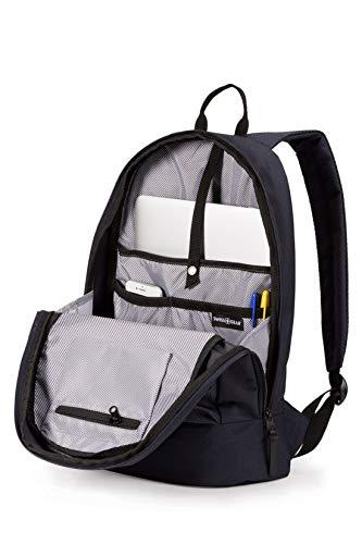 Best swiss gear backpack in India 2020 Swiss Gear Laptop Backpack (Noir Satin) Image 4